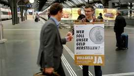 Swiss voters reject total overhaul of monetary system