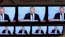 Trump and Kim set to arrive in Singapore for historic summit