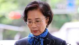 Mother of 'nut rage' Korean Air heiress grilled over illegal maids