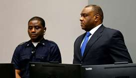 Congo's Bemba ordered released after war crimes acquittal