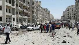 IS suicide car bomber kills six rivals in Syria