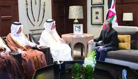 Qatar pledges 10,000 jobs and $500mn aid package for Jordan