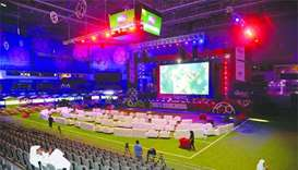 World Cup action comes alive at Qatar fan zone