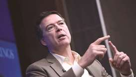 Comey: criticised for violating  Justice Department policies.