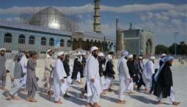 Peace for Eid as Afghanistan observes ceasefire