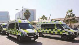 HMC ambulances