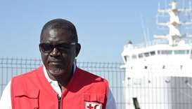 Secretary General of the International Federation of Red Cross and Red Crescent Societies (IFRC) Elh