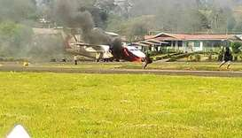 Plane, governor's house torched in PNG violence