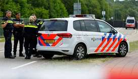 Van kills one at Dutch music festival, suspect arrested
