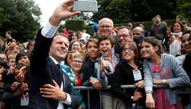 """Macron scolds teen for asking """"How's it going, Manu?"""""""