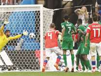 Saudi Arabia drags geopolitical baggage on to World Cup pitch