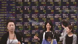 Asia bourses tumble on trade war fears
