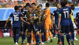Japan sink Colombia in historic win for Asia