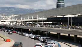 Beirut international airport, Lebanon