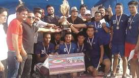 Nepali expats hold volleyball tournament on Eid