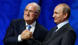 Ex-FIFA chief Blatter says England should host World Cup
