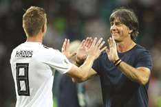 Loew hopes win was a signal, Kroos ready to step on gas
