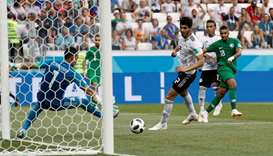 Salah's Egypt leave World Cup winless after late Saudi defeat