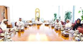 Deputy Amir chairs QU board meeting
