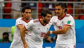 Iran equalise in stoppage time to hold Portugal 1-1