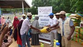 Food relief to Somali refugees in Kenya