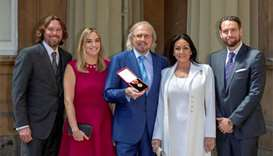 Bee Gees' Barry Gibb honoured with knighthood