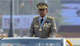 Myanmar sacks top general involved in Rohingya crackdown