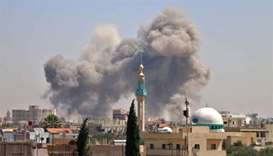 Syrian offensive knocks hospitals out of service