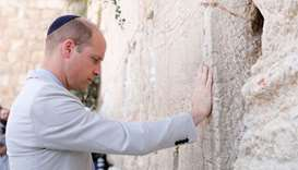 Prince William visits holy sites, great-grandmother's tomb