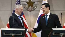 US troop commitment to South Korea 'ironclad': Mattis