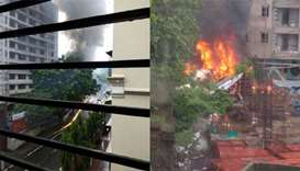 Mumbai light plane crash kills five people