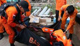 Indonesian search and rescue team finds sunken ferry