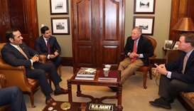 FM discusses strategic ties with US senators