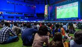 Qatar Fan Zone a haven for Doha football fans