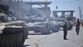 Syrian rebels lose string of southwest towns