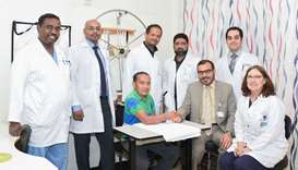 The multi-disciplinary care team that performed the surgery