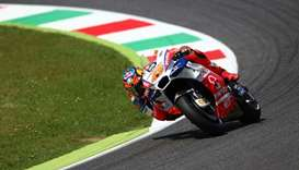 Alma Pramac Racing's Jack Miller in action during qualifying