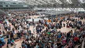 Power outage stops flights at Hamburg airport