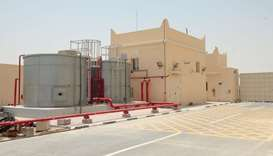 The new sub-station in Al Jehaniya. PICTURES: T K Nasar.