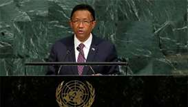 Madagascar names UN official as 'consensus' PM