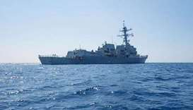 US considers sending warship through the Taiwan Strait