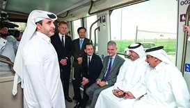 PM reviews work progress of Lusail Tram network