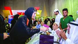 Aspire Zone Foundation shares joy of holy month with elderly