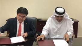 QEWC, Japan's Marubeni sign pact