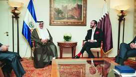 Qatar participates in inauguration of El Salvador leader