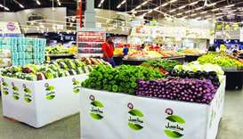 Mahaseel vegetables arrive at Al Meera
