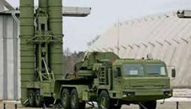 S-400 surface-to-air missiles