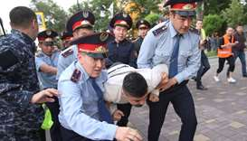 Scores more Kazakh protesters arrested despite dialogue call
