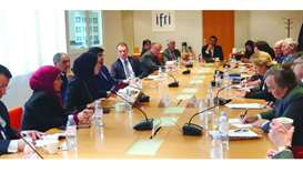 Foreign ministry spokesperson takes part in IFRI debate