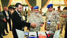 HE Chief of Staff of the Armed Forces Lieutenant General (Pilot) Ghanem bin Shaheen al-Ghanem joins